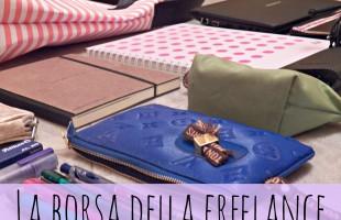 La borsa da lavoro della freelance in trasferta (o anche no)